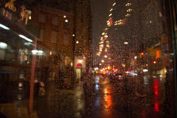 Raining in NYC