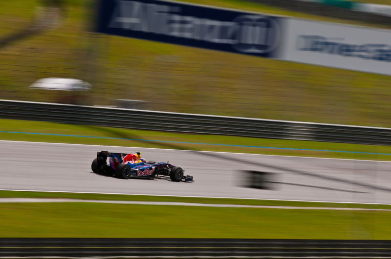 Mark webber pedal to the metal!