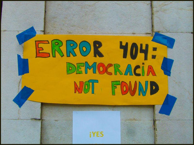 DEMOCRACIA REAL, YA - #SPANISHREVOLUTION