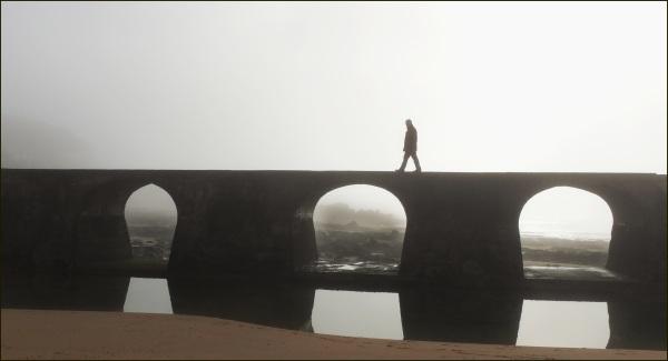 sobre el puente
