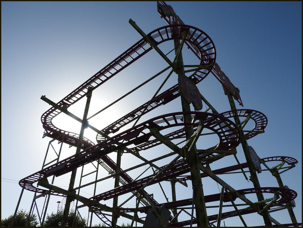 Goodbye, roller coaster
