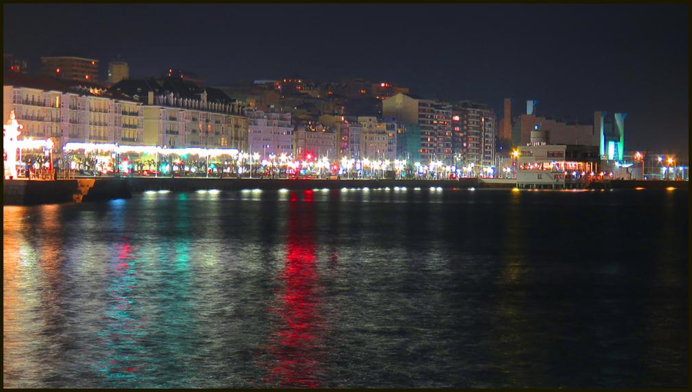 Noche en  Santander