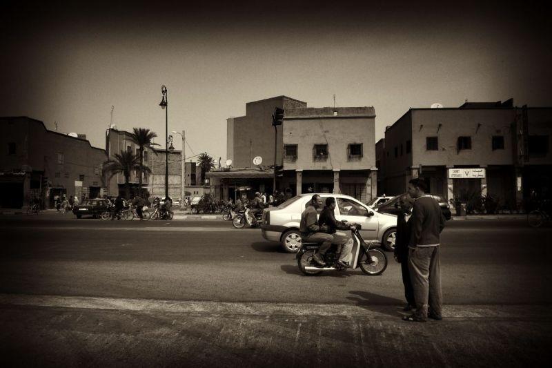 street view in morroco