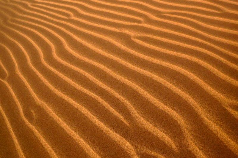 sand in the desert i morroco