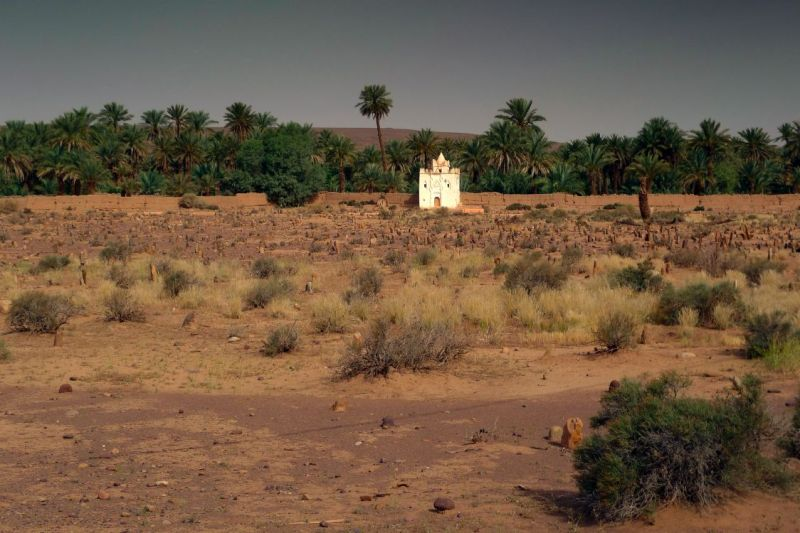 A stangeplace in Morroco