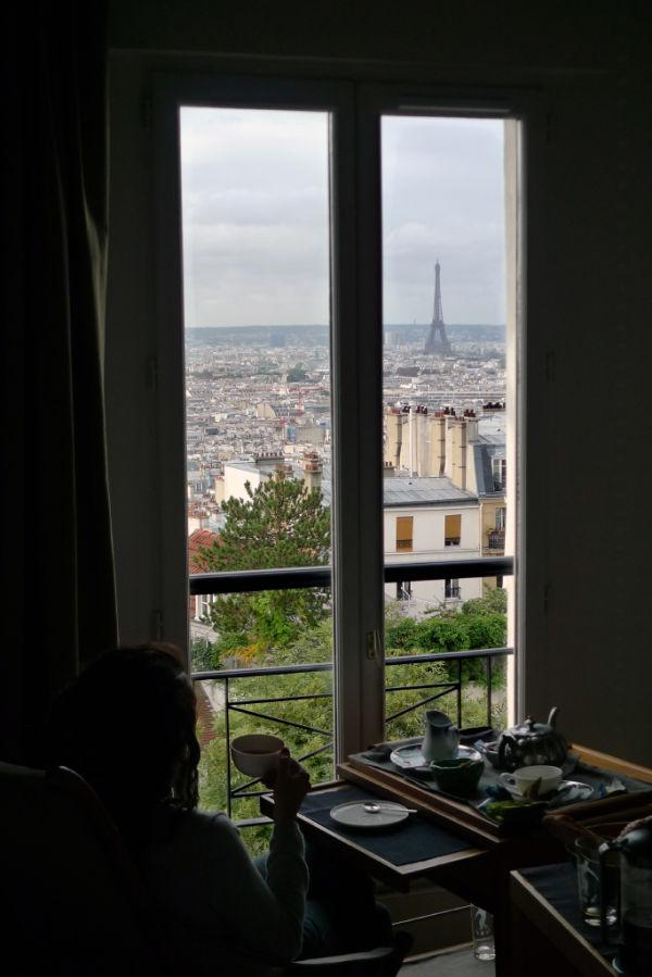 A sweet morning in Paris...