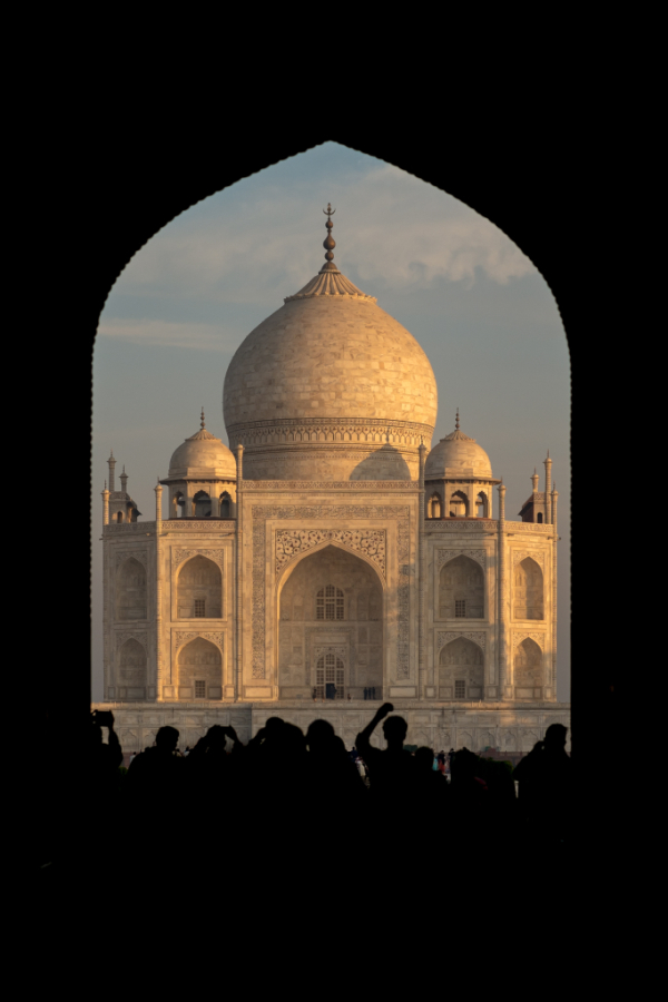 The Taj Mahal ...