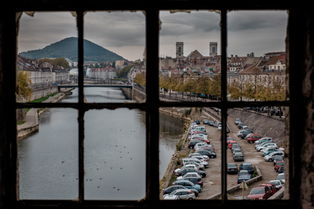 a city view of besancon