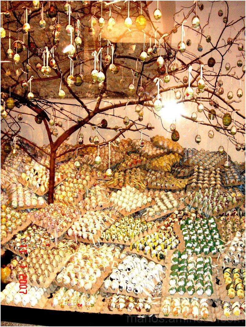 Christmas eggs