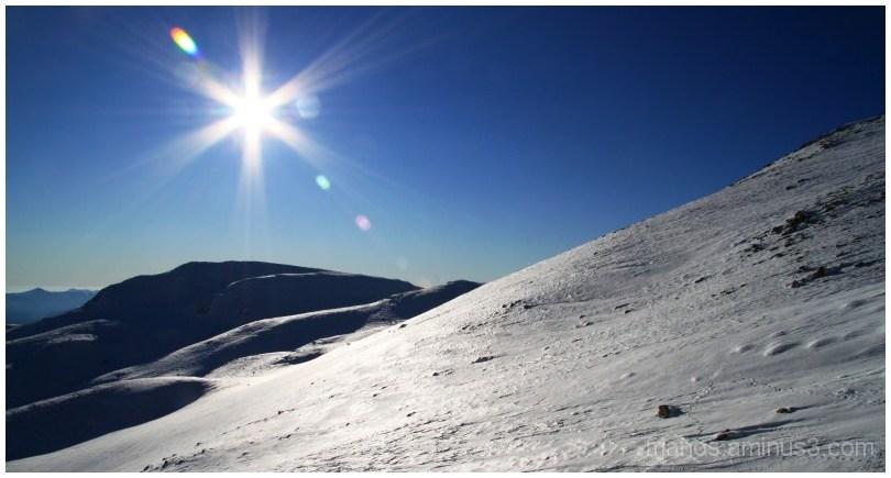 sun and snow