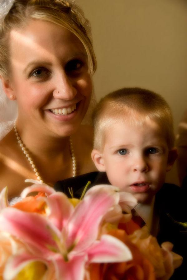 wedding BlindPoet mother son bride Denver
