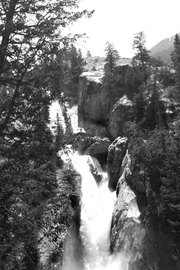 Marble Falls, Marble Colorado by BlindPoet