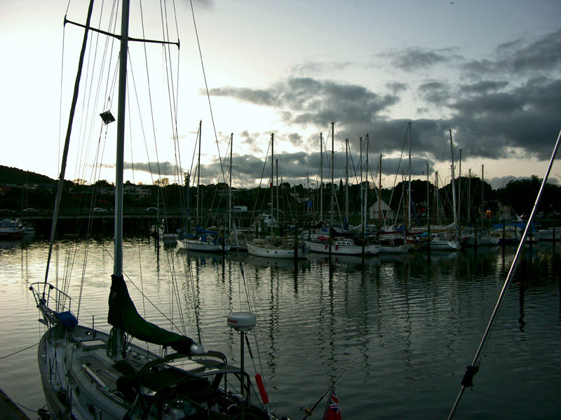 Whangarei Town Basin at Dusk by BlindPoet