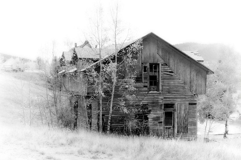 Deserted house in Victor Colorado by BlindPoet