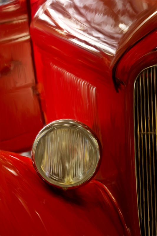 Hot Rod in red by BlindPoet