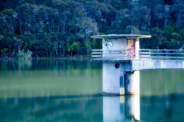 Whau Valley Dam one evening by BlindPoet