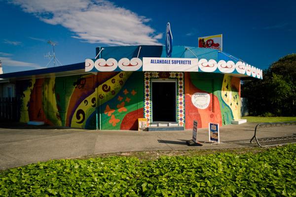 Corner Dairy Whakatane NZ by Blindpoet