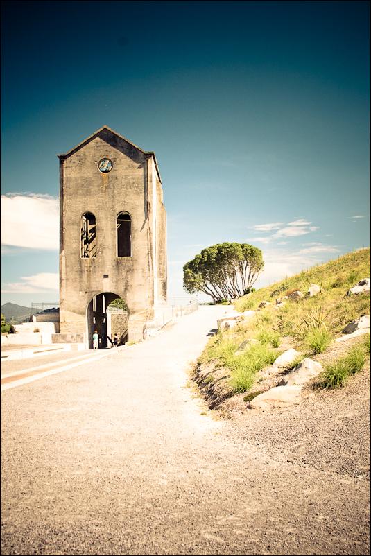 Cornish Pumphouse Martha Mine Waihi NZ