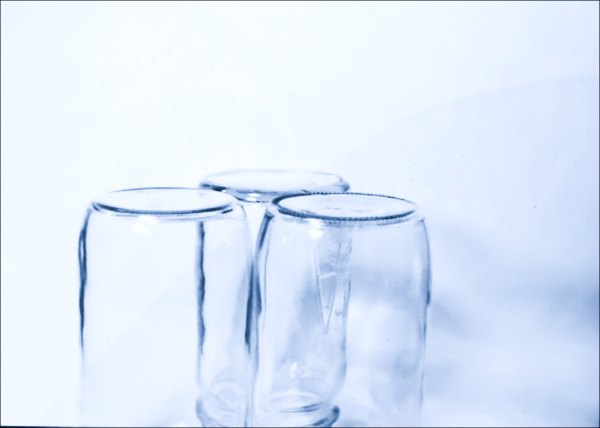 Three Preserving Jars