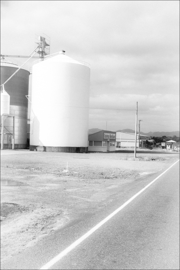 The Silo And The White Line of Indifference