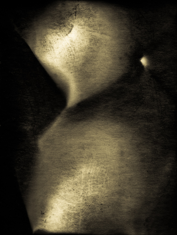 Mona Lisa Loses Face And Turns Titanium white