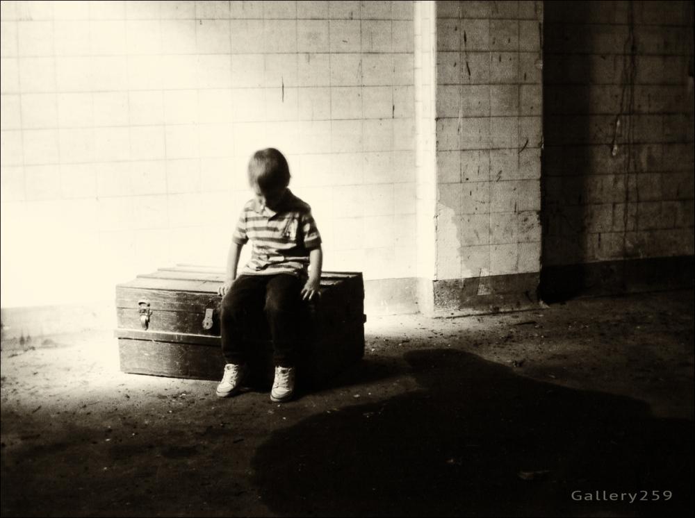 The Little Man Waits