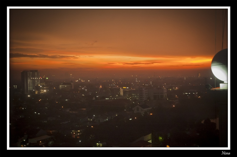 the view that rarely you can get in Jakarta