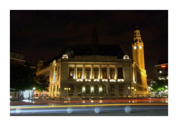Charleroi by night...