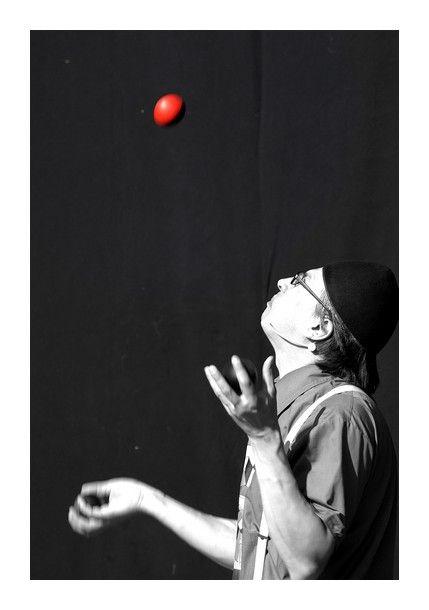Le jongleur...