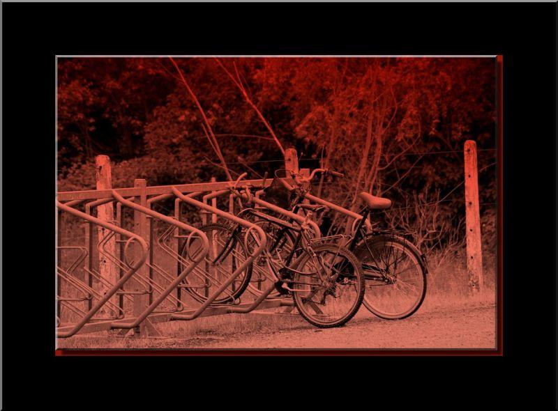 Les bicyclettes...