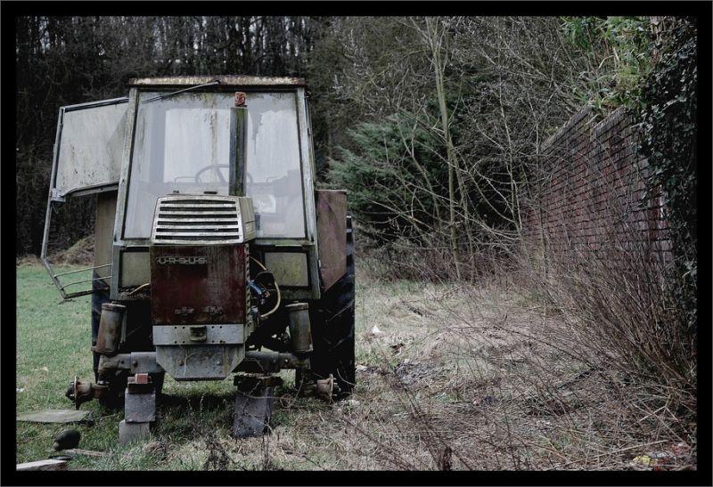 Tracteur à blocs...