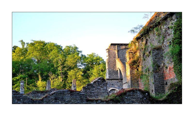 Les ruines de l'abbaye...(2)