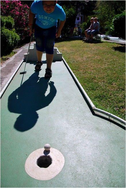 Mini-golf...