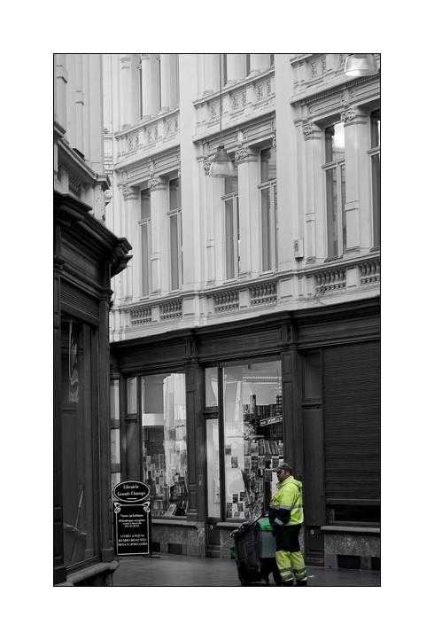 Charleroi: Passage de la bourse