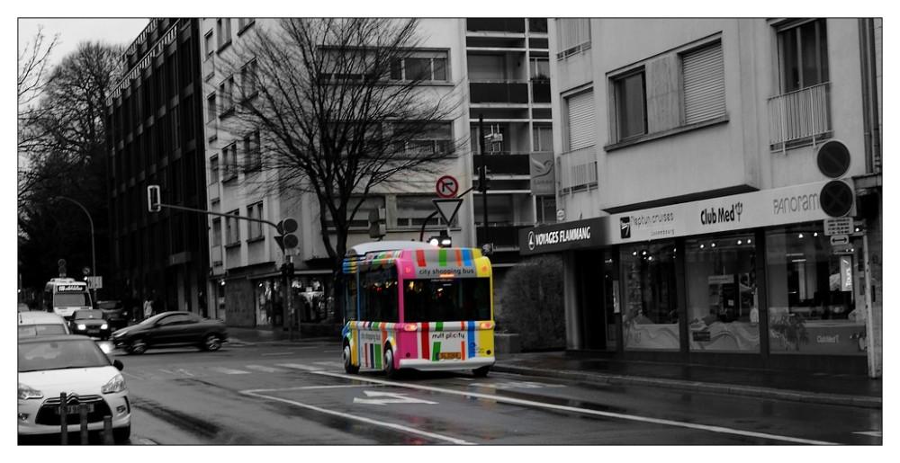 La ville en couleur...