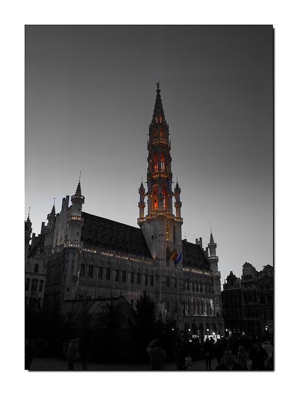 L'Hotel de ville de Bruxelles ...