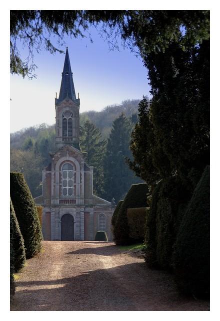 Les jardins de l'Abbaye...