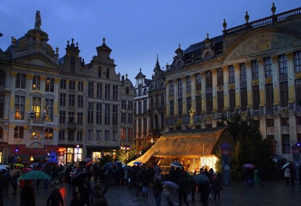 Bruxelles, La Crêche de Noël.