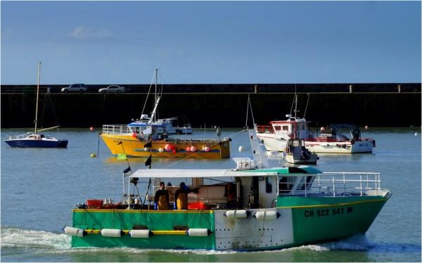 Granville, retour au Port