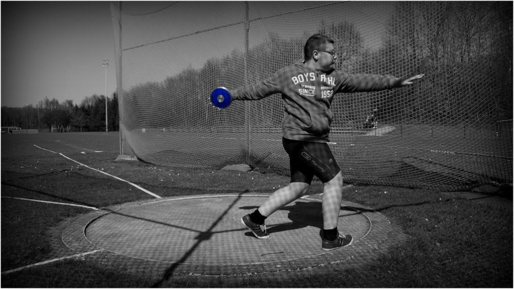 discus throw...