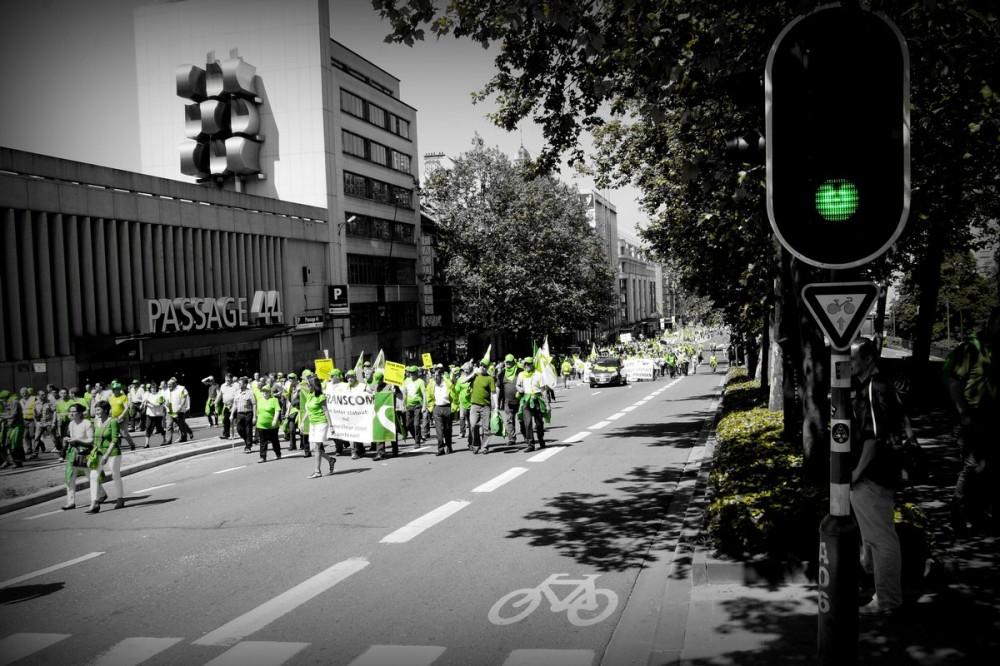 En vert et contre tout...