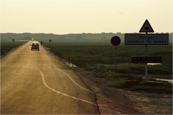 Route des salines...