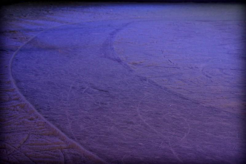 Traces sur glace...