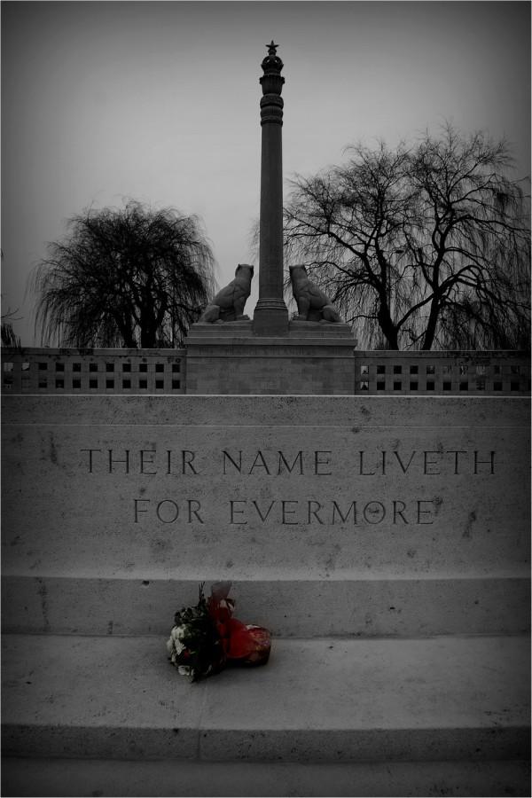 Indian memorial.