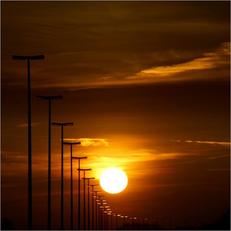 au crépuscule du jour..