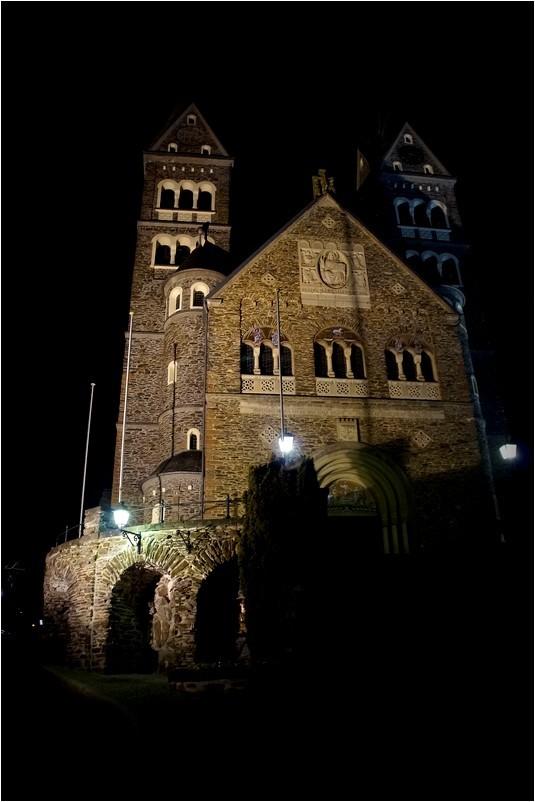 Clervaux, la nuit...