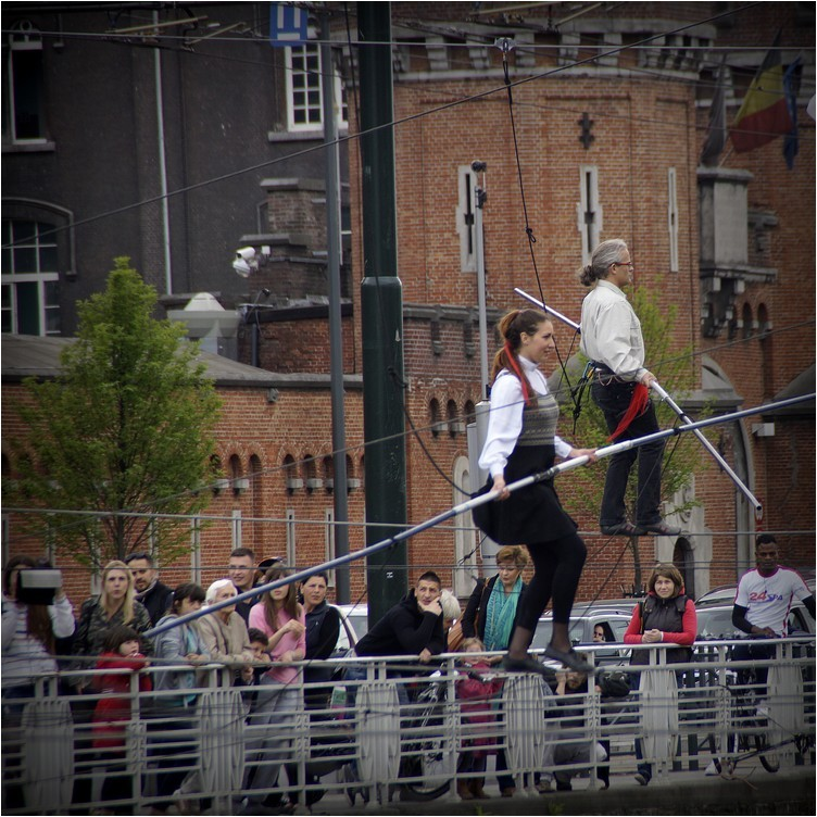 Les funambules du canal...(7)
