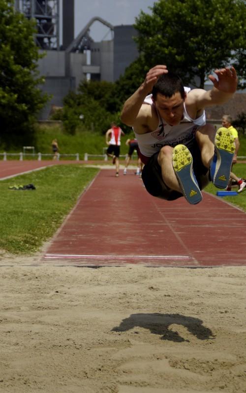 Long jump...
