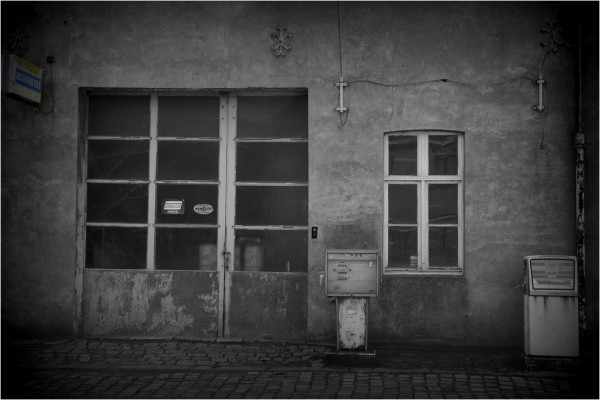...Gas station...