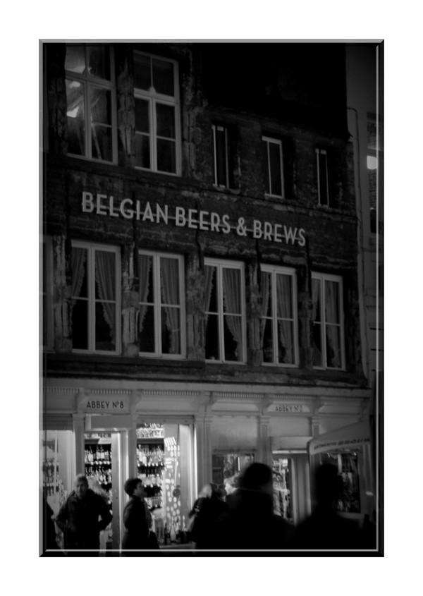 Belgian beers...